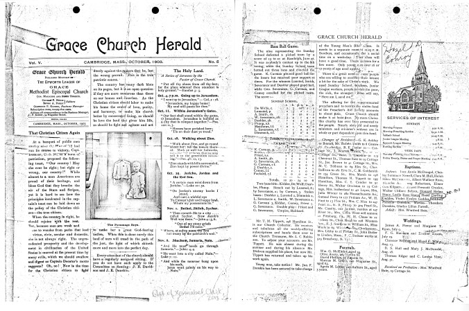 Grace Church Herald, October 1903