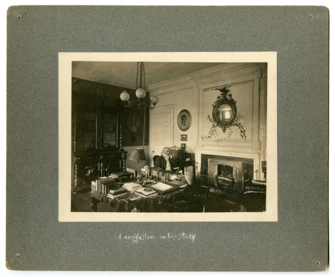 Longfellow in his Study