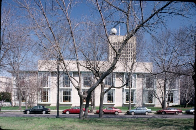 MIT Hayden Memorial Library_Color Slide CHC017