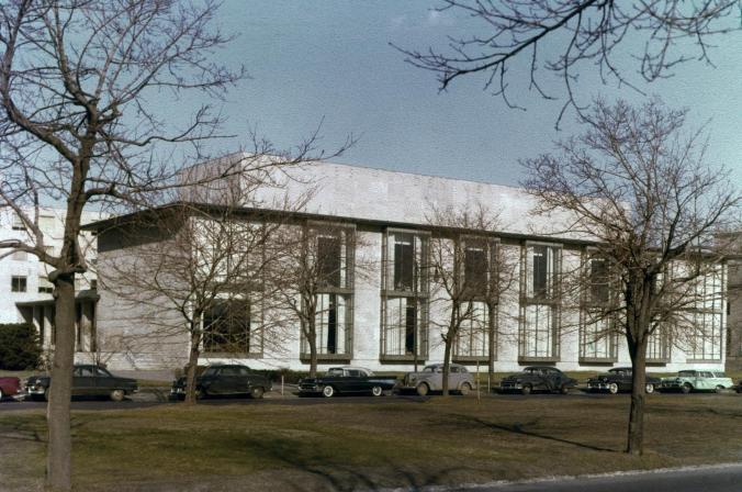 MIT Hayden Memorial Library_UMichigan Archives