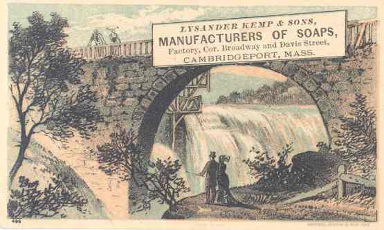 lysander kemp postcard