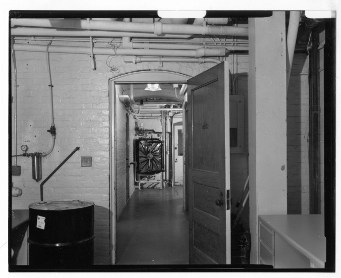 Wolcott Gibbs Memorial Laboratory - Basement interior