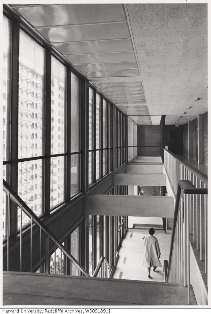 Interior View of Loeb Drama Center_Radcliffe College Archives