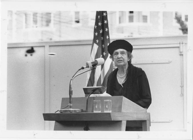 Katharine McCormick at Hall dedication 1963_MIT Alum Class 1964 website