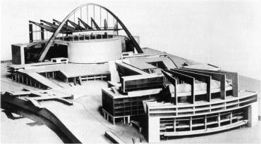 LeCorbusier's Model of the Palace of the Soviets (unbuilt)