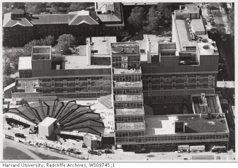 Science Center aerial_Radcliffe Archives_1973