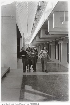 Science Center Interior 1st floor_Radcliffe Archives_1973