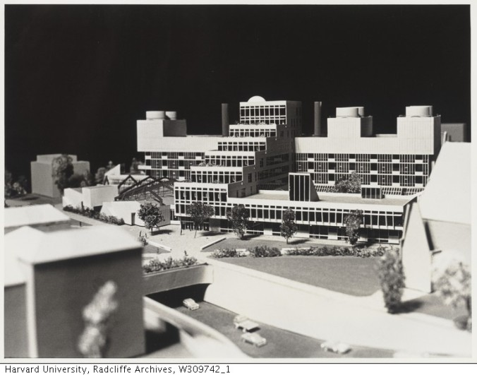 Science Center Model_Radcliffe Archives_1970