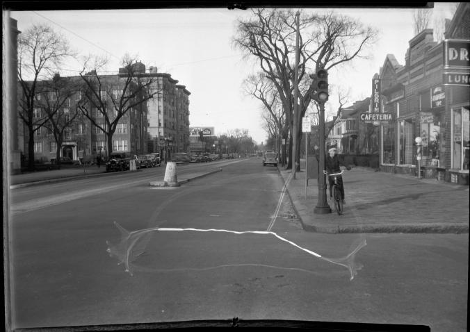 Mass Ave at Everett St E-1983